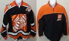 Tony Stewart Home Depot NASCAR Chase Auth Reversible Hockey Style Jacket Mens M