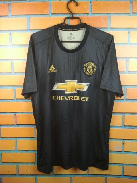 100% authentic 8ecb6 a8086 Manchester United Jersey XL 2019 Third Shirt DP6022 Soccer Football adidas