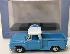Oxford Diecast '65 Chevy Stepside Pickup #65001 - Light Blue / White - HO - NEW