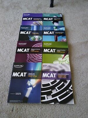 Kaplan mcat complete 7 book subject review 2015