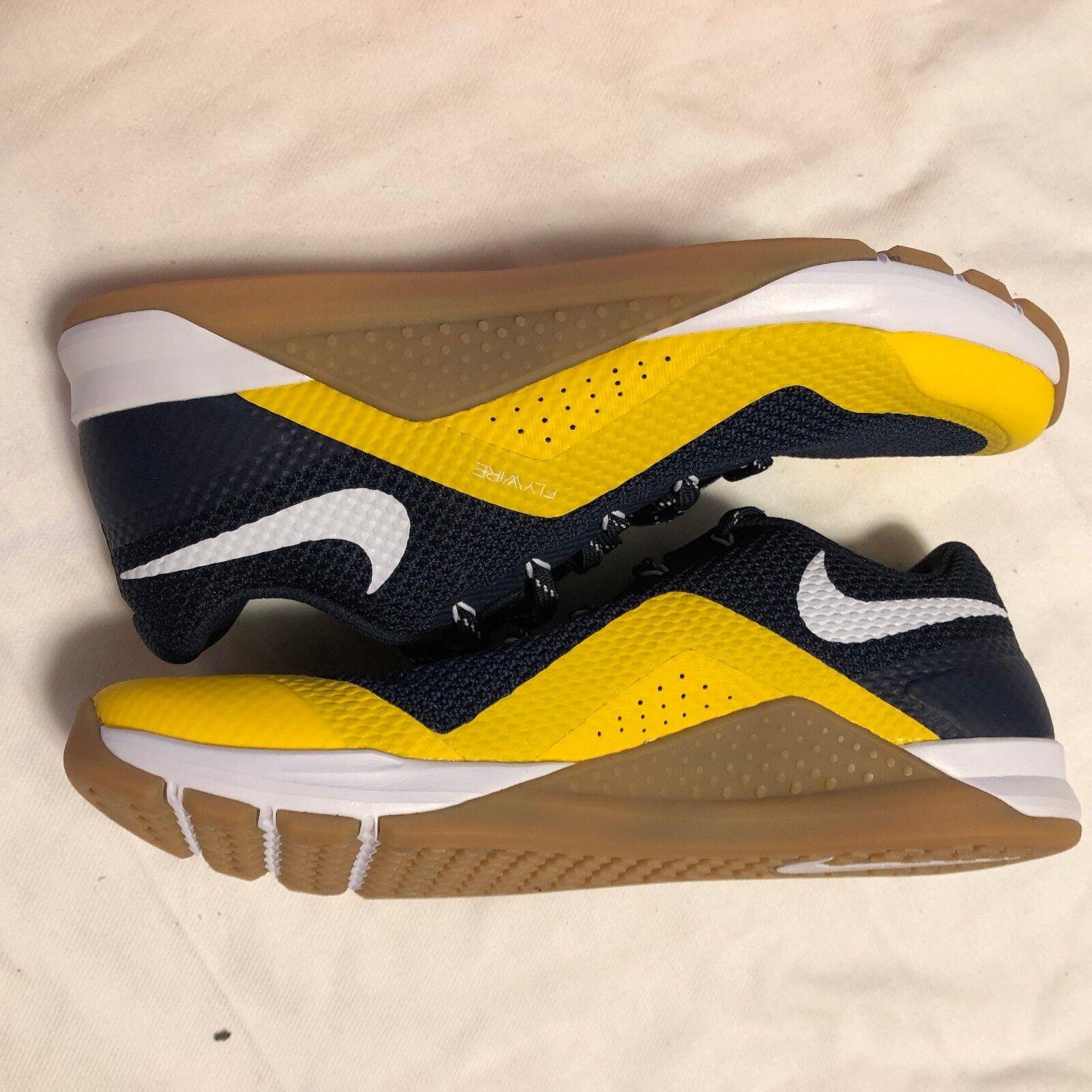 NEW NIKE METCON Repper DSX College 921215 402  MICHIGAN Go Blue NO BOX TOP  Cheap women's shoes women's shoes
