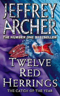 """AS NEW"" Archer, Jeffrey, Twelve Red Herrings, Mass Market Paperback Book"