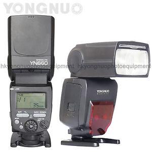 Details about Yongnuo YN660 Flash Speedlite for Canon 80D 70D 60D 50D 40D  30D 20D 10D 7D 6D 5D