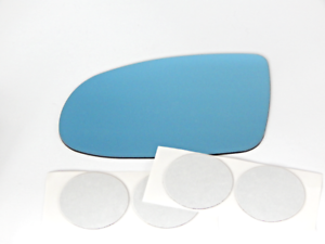Fits 97-99 Cad Catera Left Driver Blue Mirror Glass Lens  w//Adhesive  USA