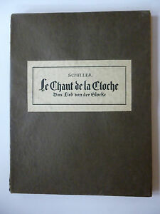 SCHILLER-Jean-Christophe-Frederic-BERTI-Rene-Le-Chant-de-la-Cloche-1927