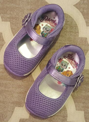 NICKELODEON PAW PATROL Girls Shoes BALLET Flats ATHLETIC Running PE Size 5 NEW