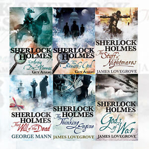 Sherlock-Holmes-6-Books-Collection-Set-The-Thinking-Engine-Paperback-Brand-New