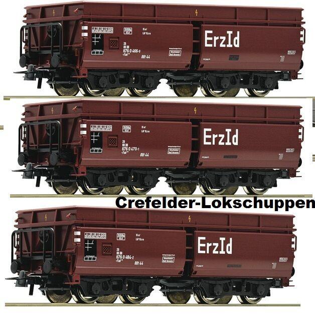ROCO 67148 3-er Set vagoni MINERALI DB ep 3-4 Swap ASSE opzionale   GRATIS