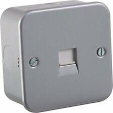 Metall Verkleidung Telefon Sekundär Verlängerung Spülung Steckdose Für Daheim &