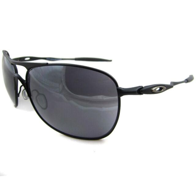e80673b1da60a Authentic Oakley Crosshair Sunglasses Oo4060-03 Matte Black Iridium ...
