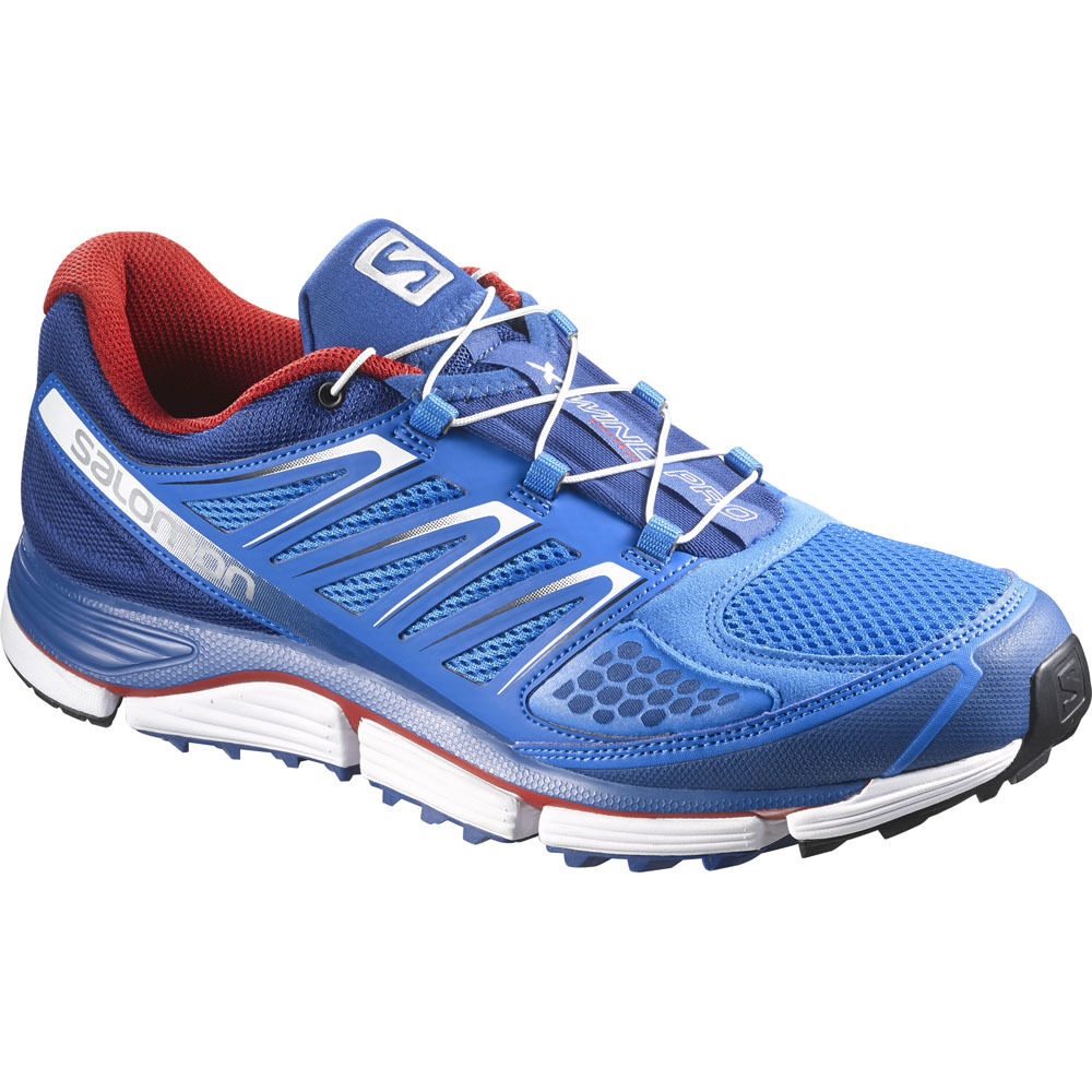 Salomon X-WIND PRO Laufschuhe Schuhe Turnschuhe Jogging trainers BLAU