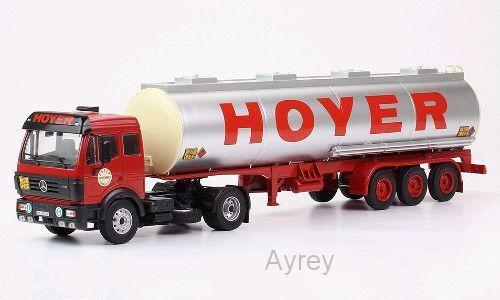 IXO Modello Camion Mercedes-Benz SK1844 Cisterna HOYER SCALA 1-43 TTR001