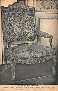 Postcard-Arts-Decorative-Chair-Furniture-Wood-Carved-Xvii-Edit-ND-394