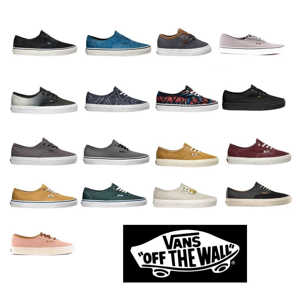 VANS Sneaker Sportschuhe Skaterschuhe Authentic Schnürung EVA Sohle