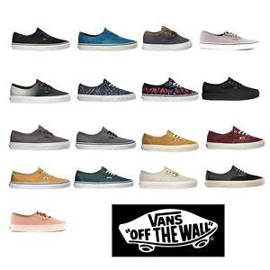 Vans-Zapatillas-de-deporte-zapatillas-de-skate-Autentico-cordon-EVA-Suela