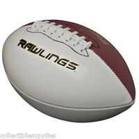 Rawlings Autograph White Panel Full Size Football