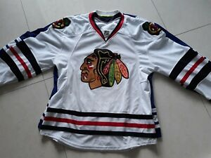 CHICAGO-BLACKHAWKS-Indo-EDGE-Stitched-NHL-Ice-Hockey-Jersey-Unfinished-54-56