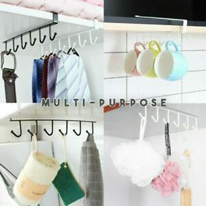Kitchen-Under-Cabinet-Towel-Cup-Paper-Hanger-Rack-Organizer-Storage-Shelf-H9Q4