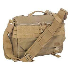 Details About 5 11 Tactical Rush Delivery Mike Duty Molle Carry Shoulder Bag Sandstone 56176