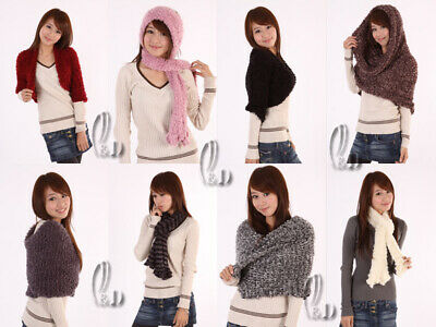 Selfless Au Seller Magic Wrap Scarf/shawl Mixed Items & Lots Worn In Multiple Style Fashion Sc293