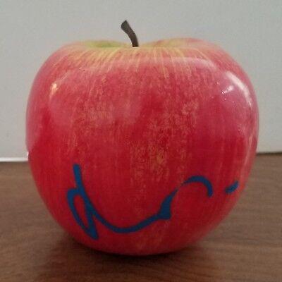 Matt Damon Signed Foam Apple Good Will Hunting Toy How You Like