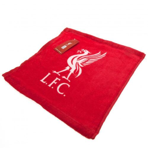 OFFICIAL LIVERPOOL FC FOOTBALL CLUB CREST FACE CLOTH FLANNEL COTTON IDEAL GIFT