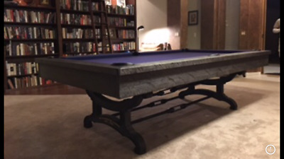 Birmingham Pool Table Rustic Style