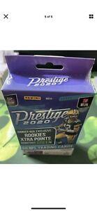 2020 Panini Prestige Football Hanger Box- Factory Sealed- 60 Cards