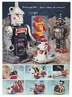 1969 PENNEYS DEPT. STORE CHRISTMAS CATALOG Pages Spaceman Robot Zeroids!!