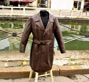 Cappotto in pelle Vintage anni'70
