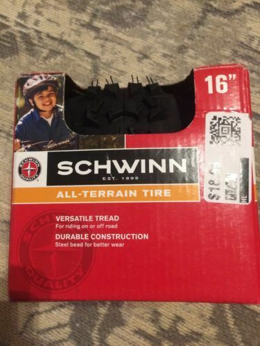"Schwinn 16/"" All Terrain Tire Item# SW75844-2"