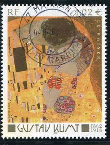 100% Vrai Timbre France Oblitere N° 3461 Tableau Gustav Klimt / Photo Non Contractuelle DéLicieux Dans Le GoûT