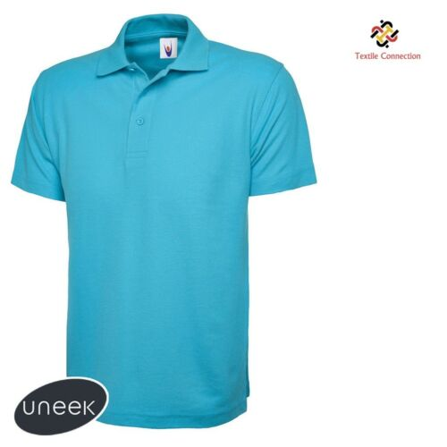 101 Mens Classic Polo T Shirts Size XS to 4XL 100/% PLAIN NO LOGOS ANYWHERE