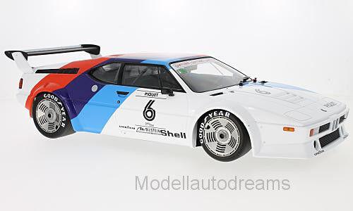 BMW BMW BMW M1 E26 BMW proCoche Piquet minichamps neu riesig 1  12 1d8