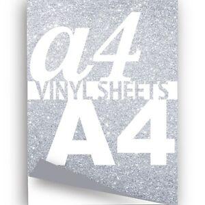A4-Silver-Glitter-Sparkle-Vinyl-297x210mm-Metallic-Flake-Sticky-Back-Crafts