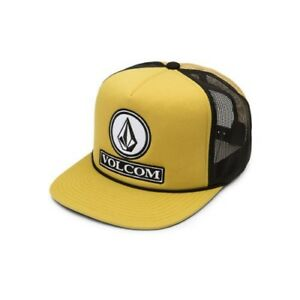 VOLCOM-DUALLY-CHEESE-MESH-SNAPBACK-CAP