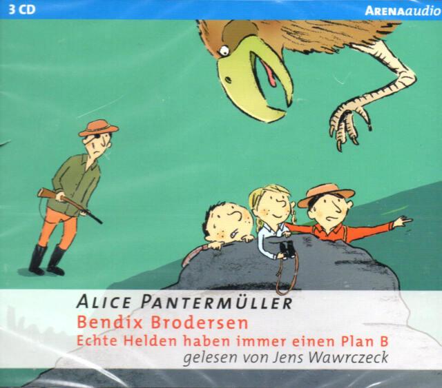 Echte Helden haben immer einen Plan B - A.Pantermüller -  3 CD´s - NEU / B-WARE