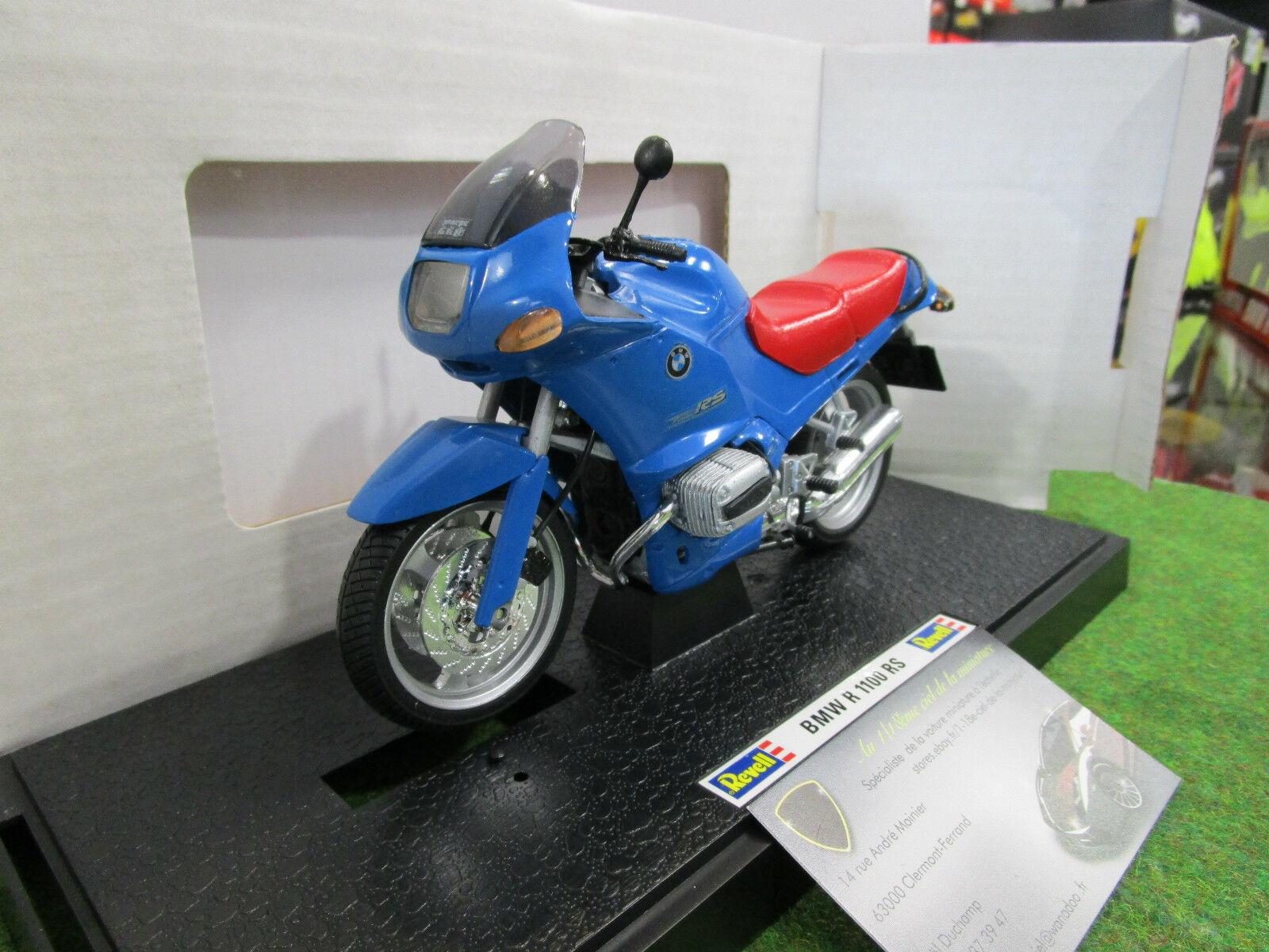 MOTO BMW R 1100 RS bleu au 1  12 REVELL 08879 moto miniature  votre satisfaction est notre cible