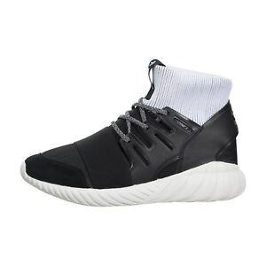 cheap for discount b7bea 1cc91 Image is loading New-Adidas-Originals-Tubular-Doom-Core-Black-White-