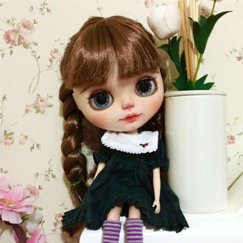 5 Pairs Black Fake Eyelashes for 12/'/' Blythe Doll DIY Making Accessory