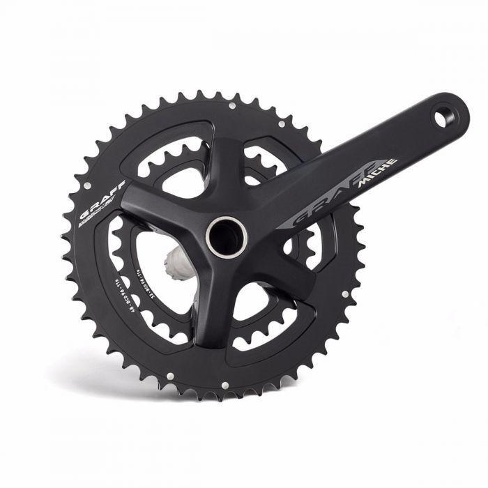 Guarnitura graff compact 46 30t 175mm 2019 MICHE bici strada