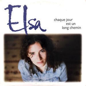 Elsa-CD-Single-Chaque-Jour-Est-Un-Long-Chemin-France-VG-EX
