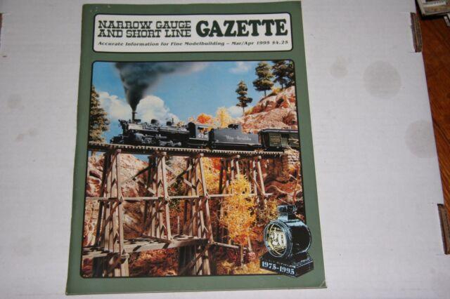 NARROW GAUGE & SHORTLINE GAZETTE ISSUE 3/4 1995