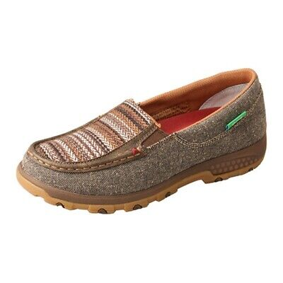 Dynamic Wxc0006 Twisted X Women's Slip-on Driving Moc Shoe With Cellstretch New Sale Price Women's Shoes Clothing, Shoes & Accessories