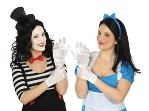 Gants Courts Blanc Accessoire Déguisement Femme Alice Clown Neuf Pas Cher 1zumjdlu-07160041-112857862