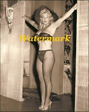 Virginia Bell1950s -Pinup Girl, Burlesque Dancer-Photo