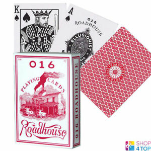 BICYCLE-ROADHOUSE-ELLUSIONIST-PLAYING-CARDS-DECK-MAGIC-TRICKS-USPCC-NEW