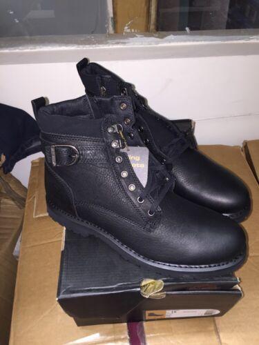 Boots Mens 11 Danby maat Harley Davidson Nib Black 5 JFKl1cT