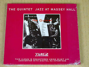 CD-The-Quintet-Jazz-at-the-Massey-Hall-20bit-K2-Debut-rec-10-000-ex-New
