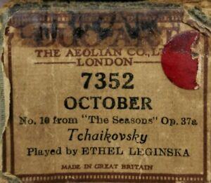 October-No10-From-The-Seasons-Op-37a-Tchaikovsky-Pl-Ethel-Leginska-Duo-Art